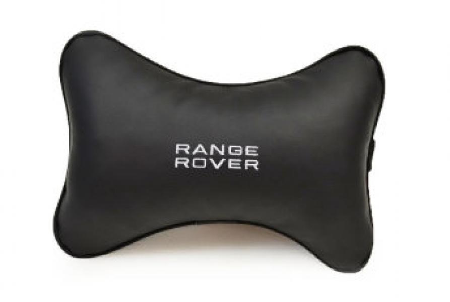 Подушка-подголовник из эко-кожи RANGE ROVER