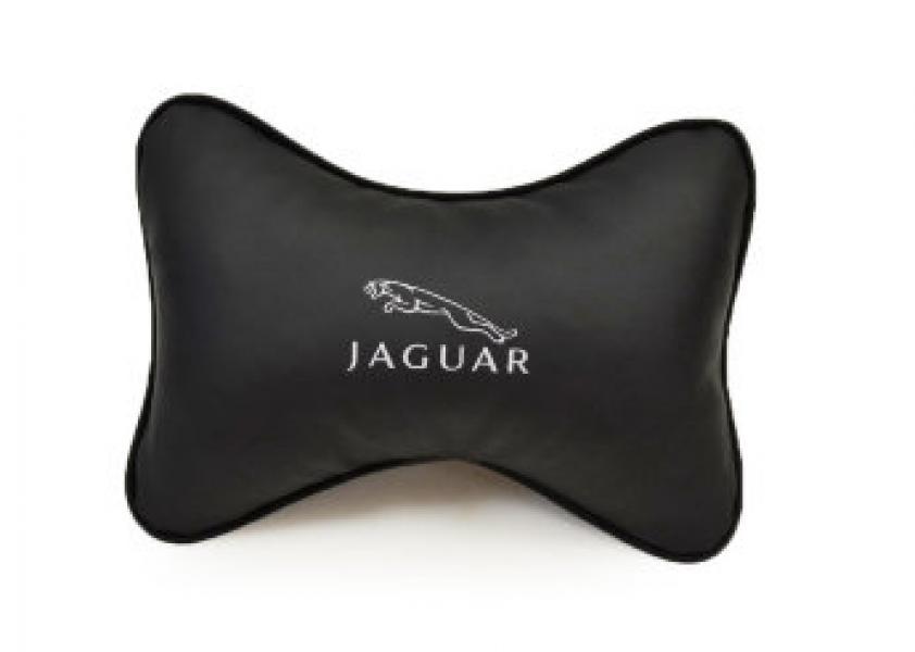 Подушка-подголовник из эко-кожи JAGUAR
