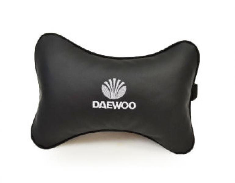Подушка-подголовник из эко-кожи DAEWOO