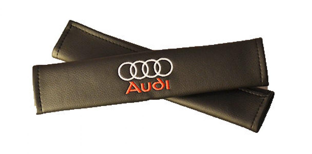 Подушки для ремней безопасности AUDI (2шт)