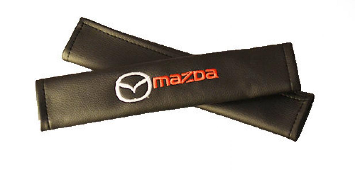Подушки для ремней безопасности MAZDA (2шт)