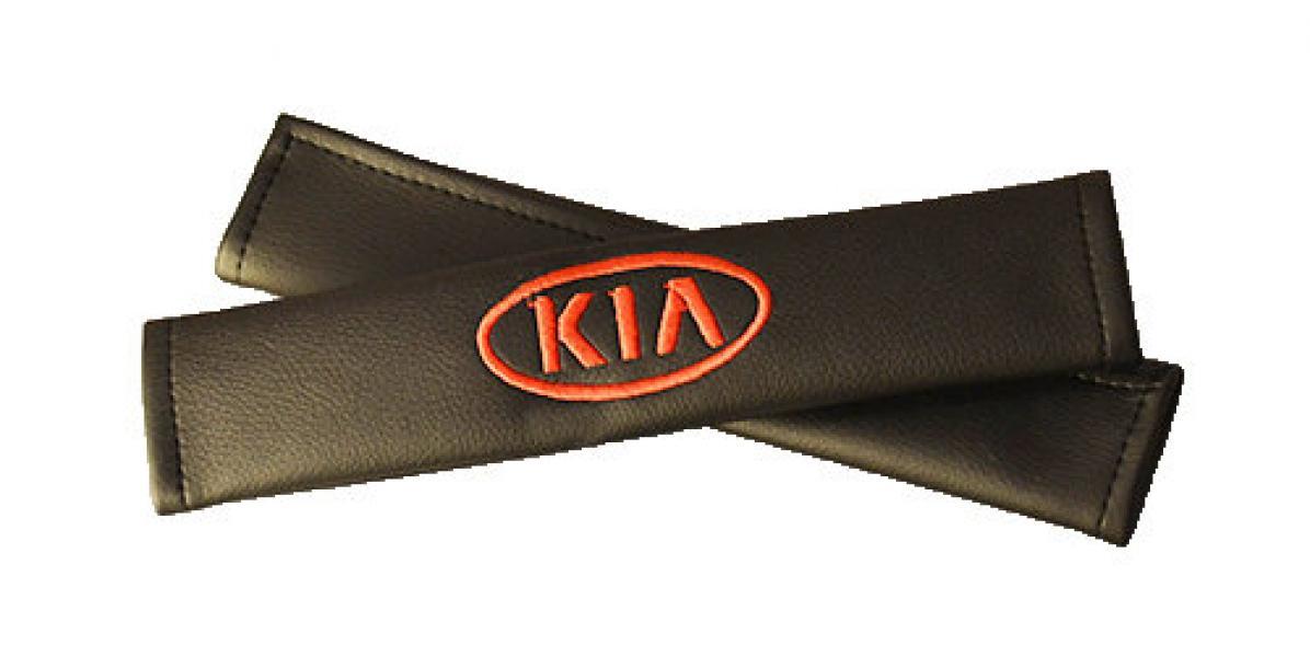Подушки для ремней безопасности KIA (2шт)
