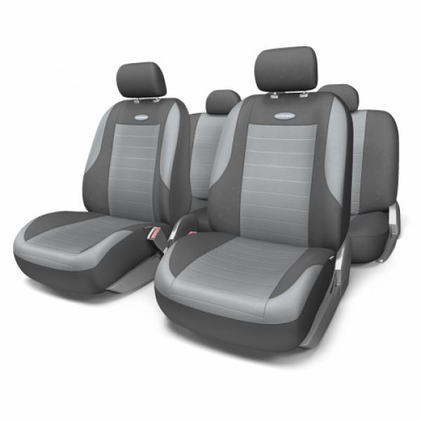Авточехлы на сидения Evolution (Серый) М