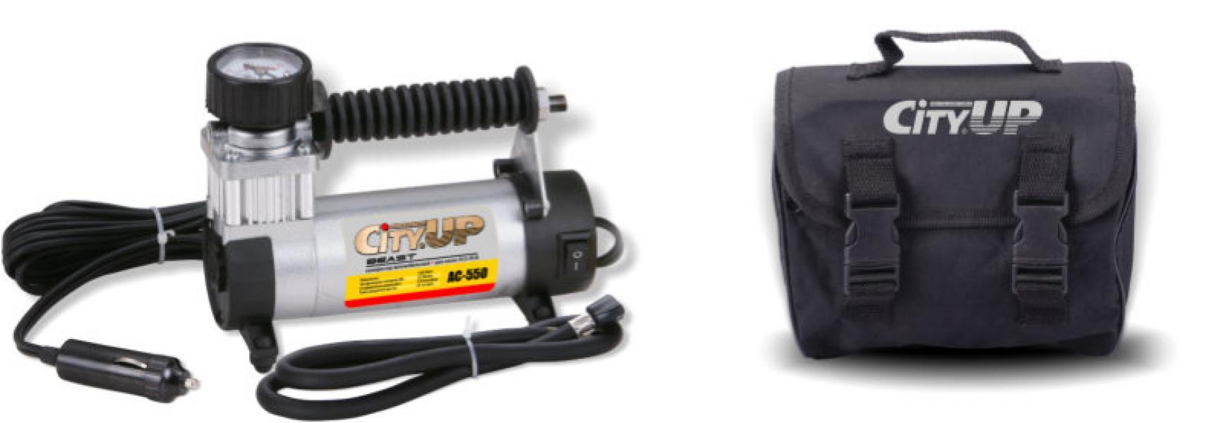 Компрессор автомобильный AС-550 Beast большой мощности (для колес R13-R18) 35 л/мин