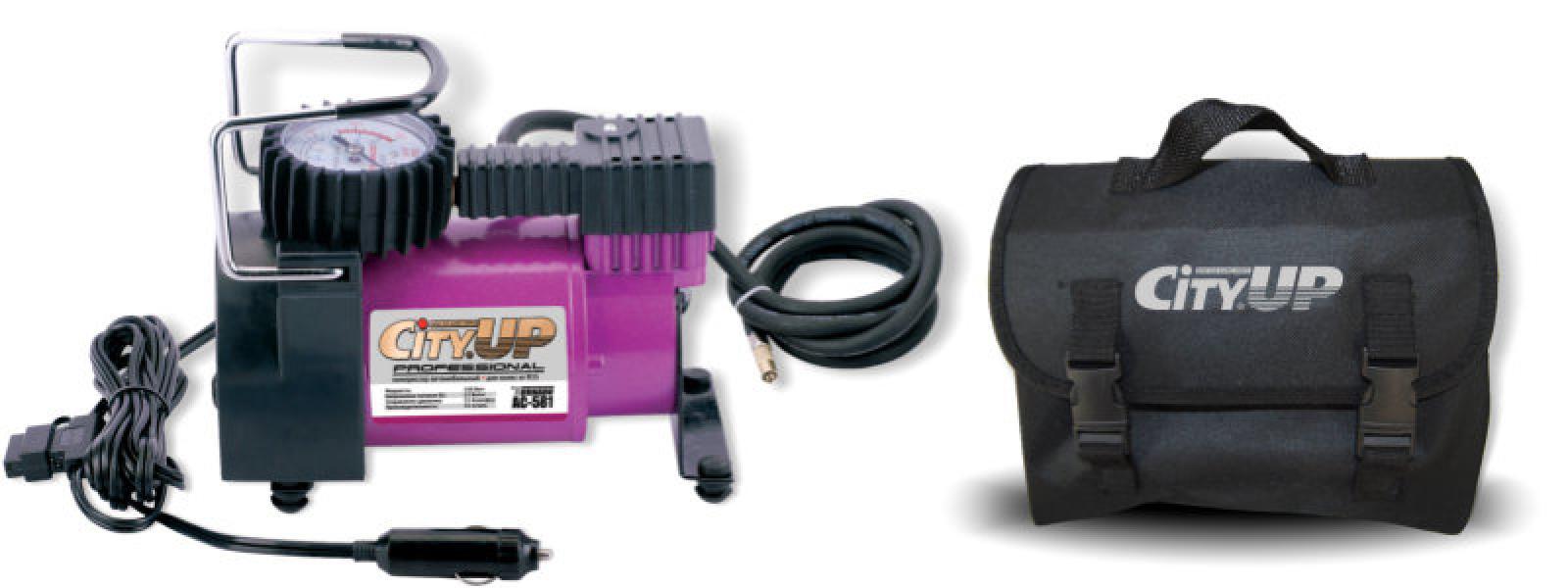 Компрессор автомобильный AС-581 Professional большой мощности( для колес от R15.)35 л/мин