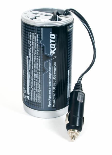 Автомобильный инвертер с USB 12V-503 (Япония) 180-200Вт