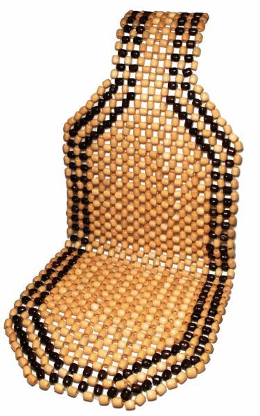 Накидка на сиденье автомобильная деревянная КОТО (Япония)