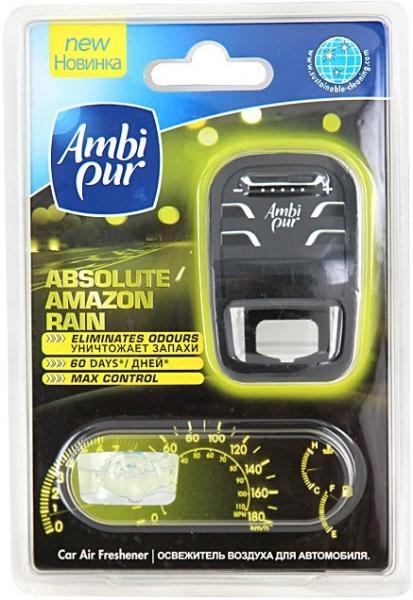 Ароматизатор в автомобиль Ambi-pur Amazon Rain в сборе