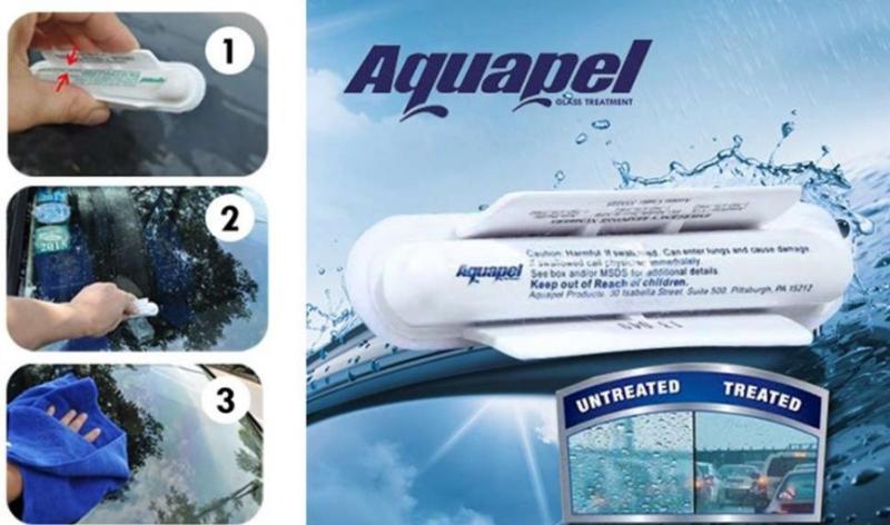 """Нанопокрытие для автомобильных стекол """"AquaGel"""" (Германия) антилед, антидождь,антигрязь"""