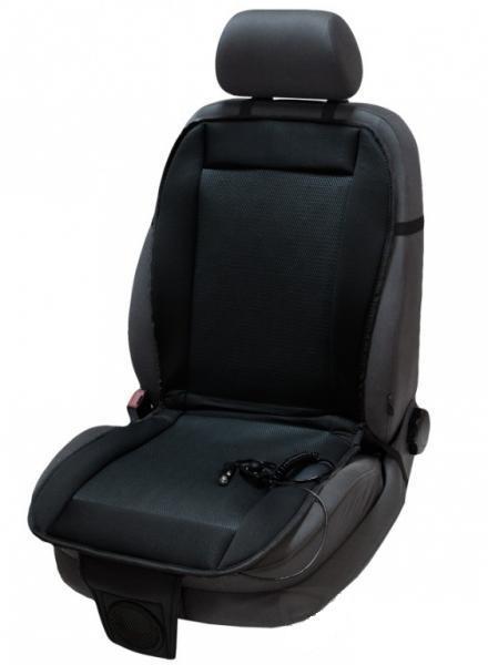 Накидка на сиденье с вентиляцией (Черная)